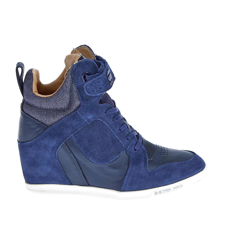G-STAR RAW - Γυναικεία μποτάκια G-Star Raw μπλε γυναικεία παπούτσια μπότες μποτάκια μποτάκια