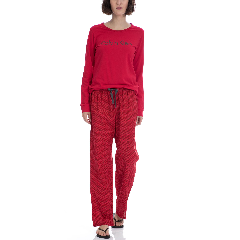 CK UNDERWEAR – Σετ πυτζάμες Calvin Klein κόκκινο