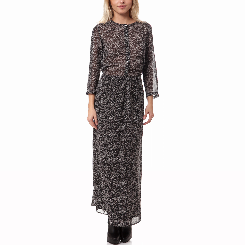 MAISON SCOTCH - Γυναικείο φόρεμα Maison Scotch μαύρο γυναικεία ρούχα φορέματα μάξι