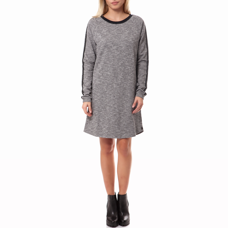 MAISON SCOTCH - Γυναικείο φόρεμα Maison Scotch γκρι γυναικεία ρούχα φορέματα μίνι