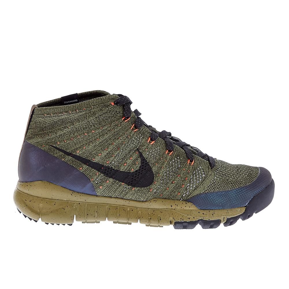 NIKE - Ανδρικά παπούτσια Nike FLYKNIT TRNR CHUKKA FSB χακί