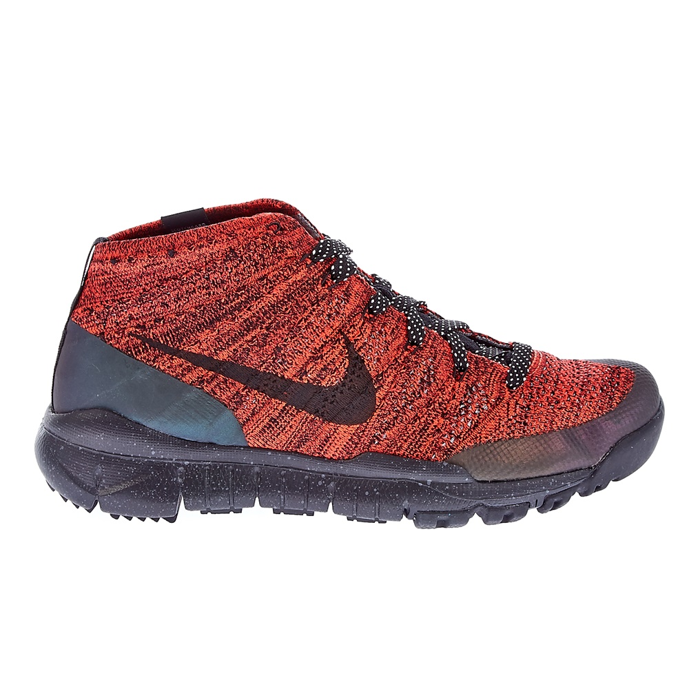 NIKE – Γυναικεία παπούτσια NIKE FLYKNIT TRNR CHUKKA FSB κόκκινα-μαύρα