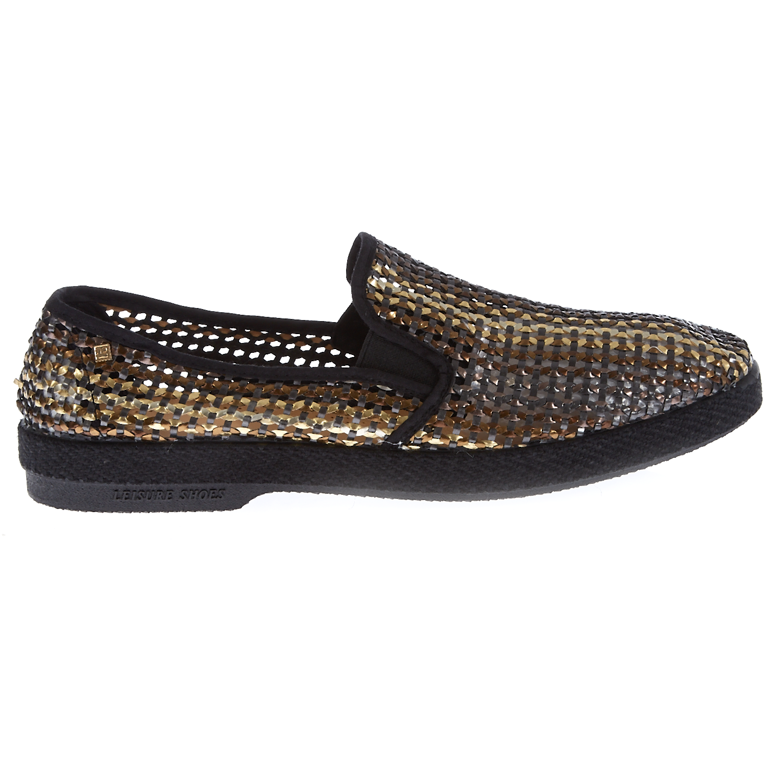 RIVIERAS - Ανδρικά παπούτσια RIVIERAS μαύρα ανδρικά παπούτσια μοκασίνια loafers