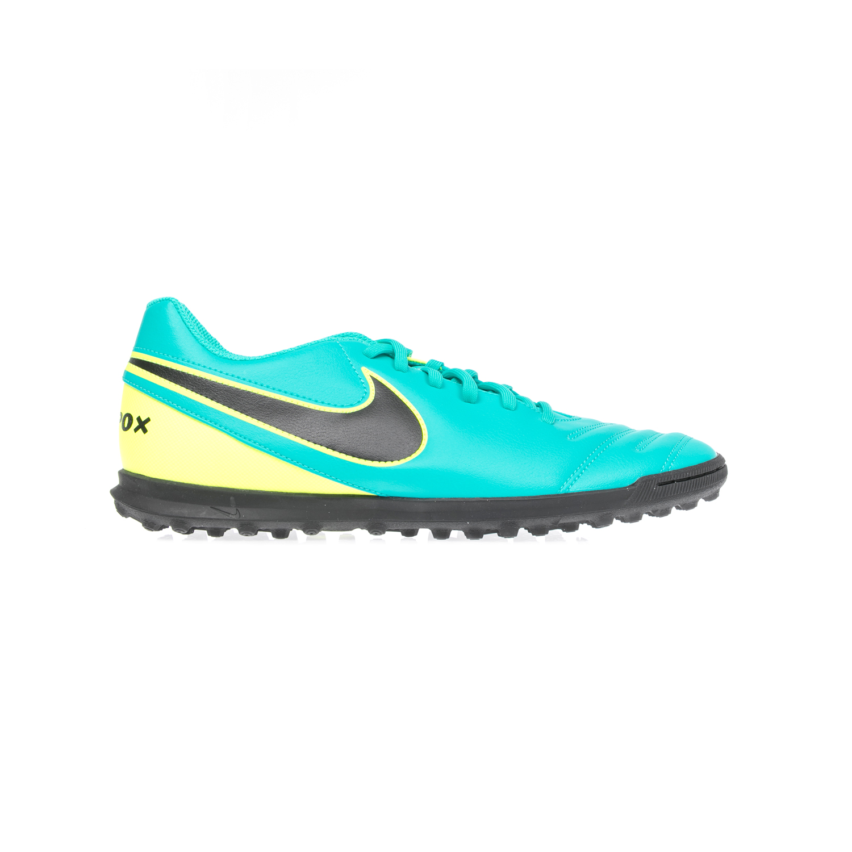 NIKE - Αντρικά αθλητικά παπούτσια TIEMPOX RIO III TF πράσινα ανδρικά παπούτσια αθλητικά football