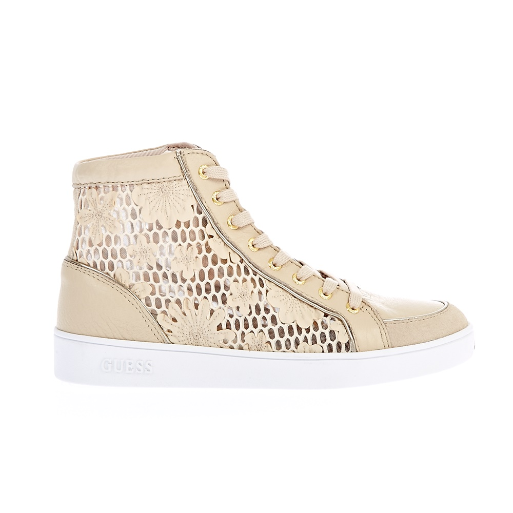 GUESS – Γυναικεία sneakers Guess μπεζ