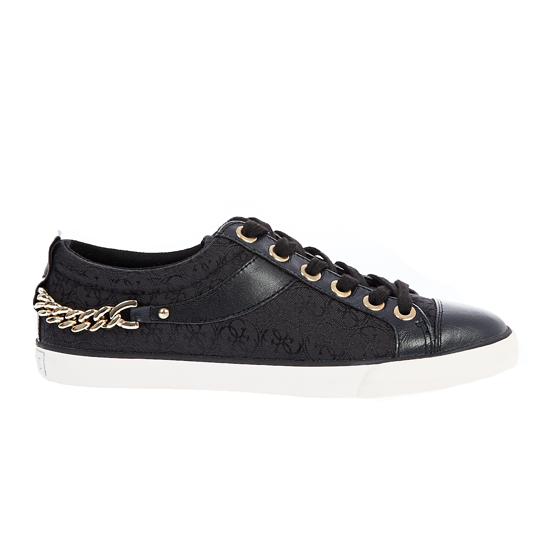 GUESS – Γυναικεία sneakers MEENAS Guess μαύρα