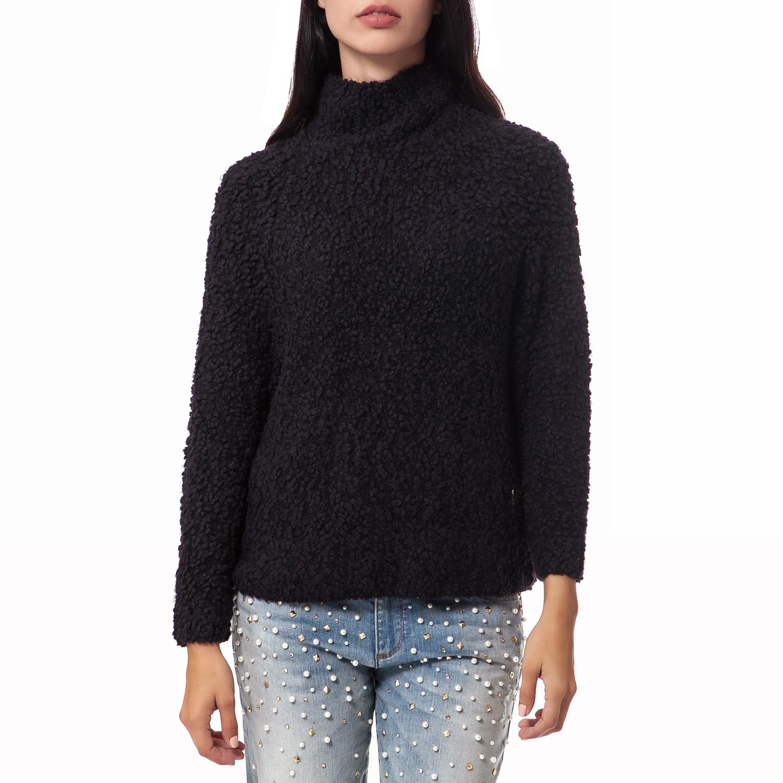 JUICY COUTURE - Γυναικείο πουλόβερ Juicy Couture μαύρο γυναικεία ρούχα πλεκτά ζακέτες πουλόβερ