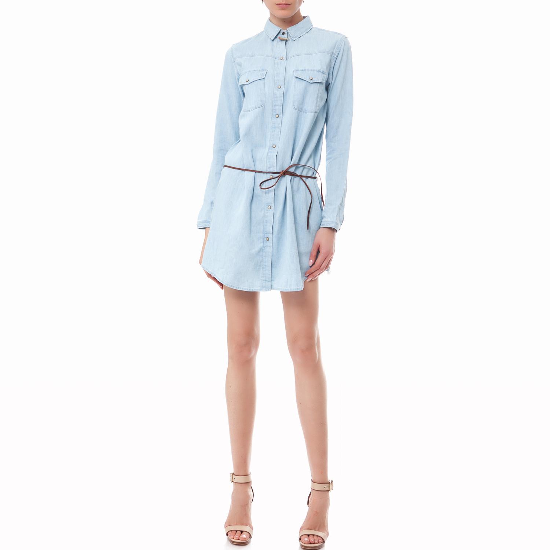 MAISON SCOTCH - Γυναικείο φόρεμα Maison Scotch γαλάζιο γυναικεία ρούχα φορέματα μίνι
