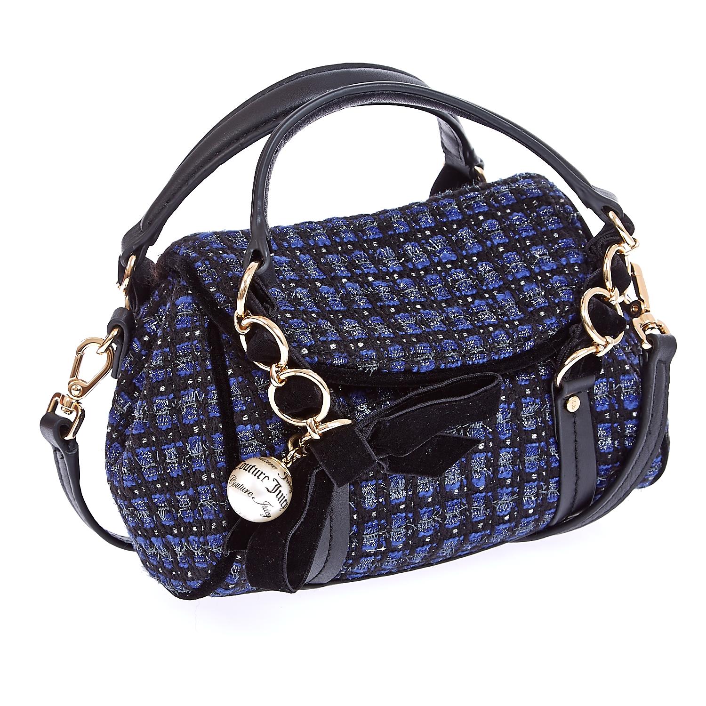 JUICY COUTURE – Τσάντα τουίντ Juicy Couture μπλε 1434608.0-1171