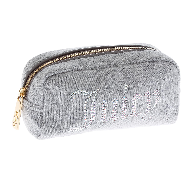 JUICY COUTURE - Γυναικείο νεσεσέρ Juicy Couture γκρι γυναικεία αξεσουάρ τσάντες σακίδια νεσεσέρ