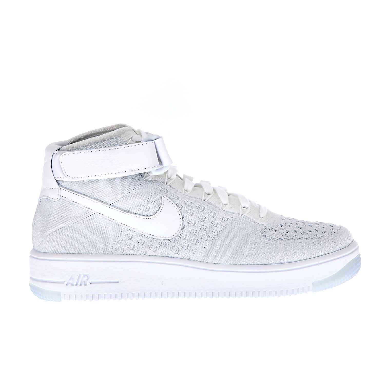 NIKE – Γυναικεία αθλητικά παπούτσια NIKE AF1 FLYKNIT λευκά