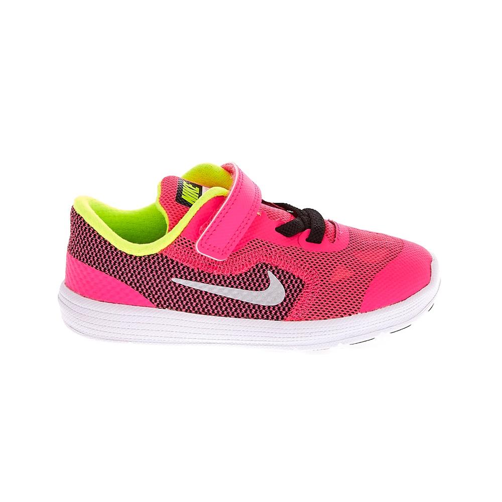 NIKE – Παιδικά αθλητικά παπούτσια NIKE REVOLUTION 3 φούξια