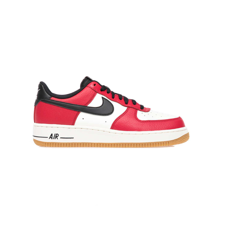 NIKE – Αντρικά παπούτσια NIKE AIR FORCE 1 άσπρο-κόκκινο
