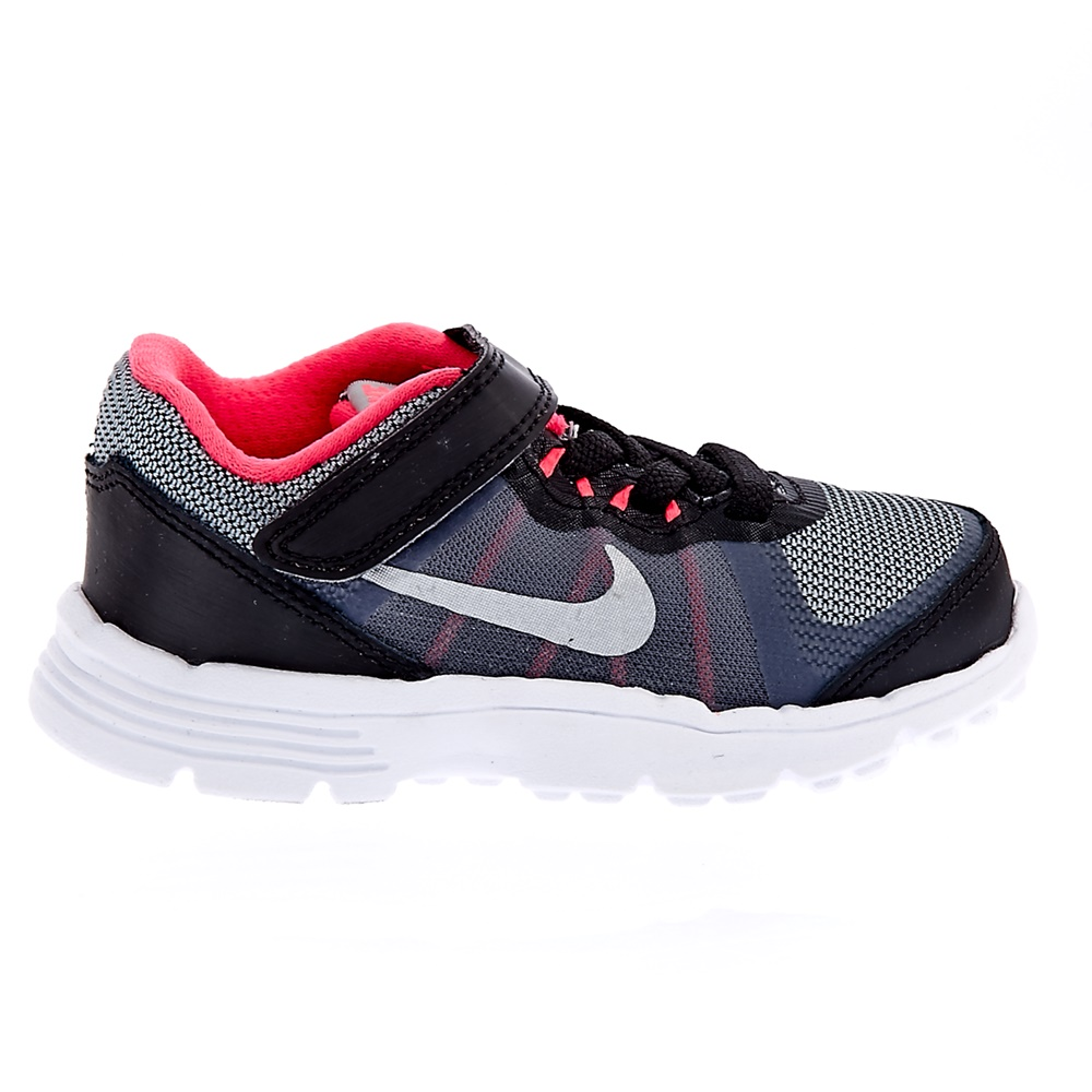 NIKE – Βρεφικά αθλητικά παπούτσια NIKE KIDS FUSION X 2 μαύρα-ροζ