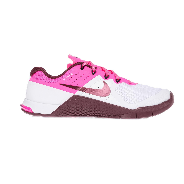 NIKE – Γυναικεία παπούτσια NIKE NIKE METCON 2 άσπρα-ροζ