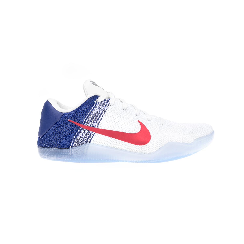 NIKE – Αντρικά αθλητικά παπούτσια NIKE KOBE XI ELITE LOW άσπρα