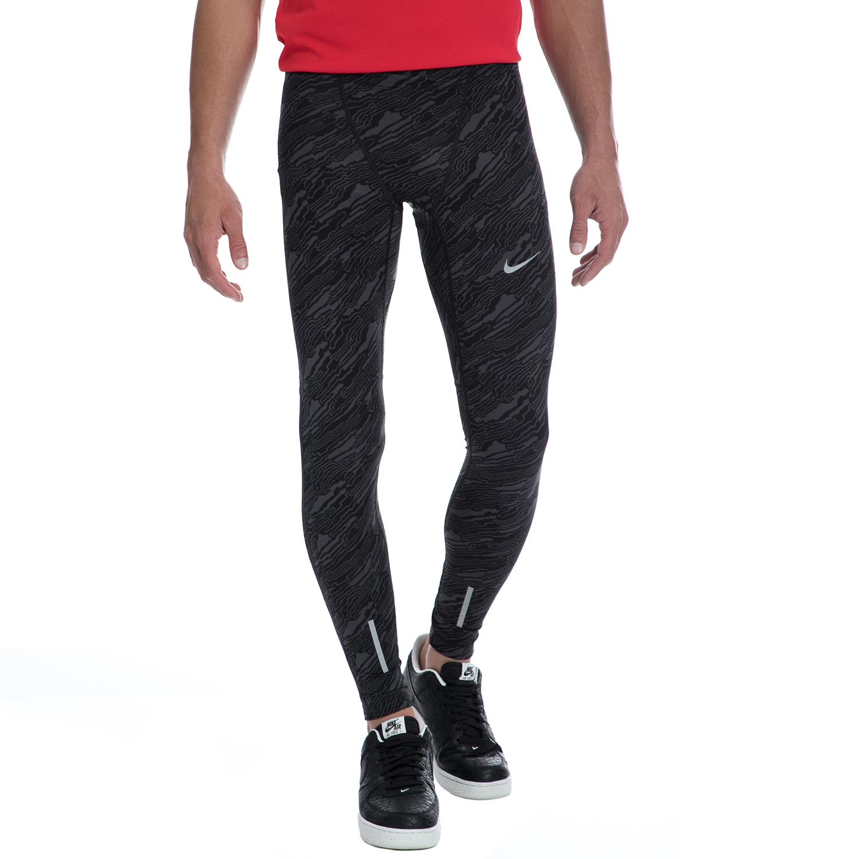 NIKE - Αντρικό κολάν NIKE γκρι ανδρικά ρούχα αθλητικά κολάν