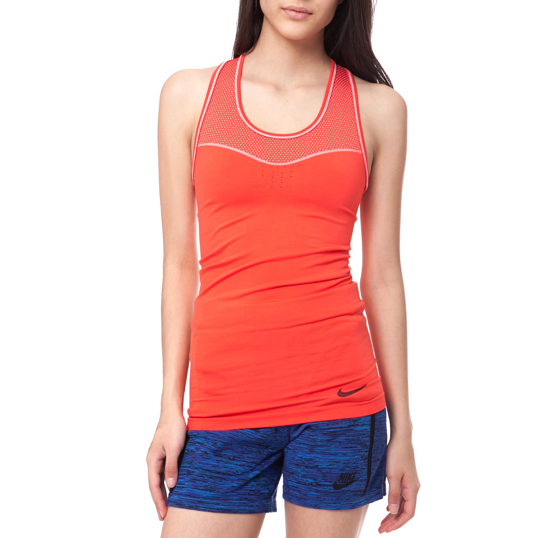 NIKE - Γυναικείο φανελάκι NIKE PRO HC LIMITLESS TANK πορτοκαλί γυναικεία ρούχα αθλητικά t shirt τοπ