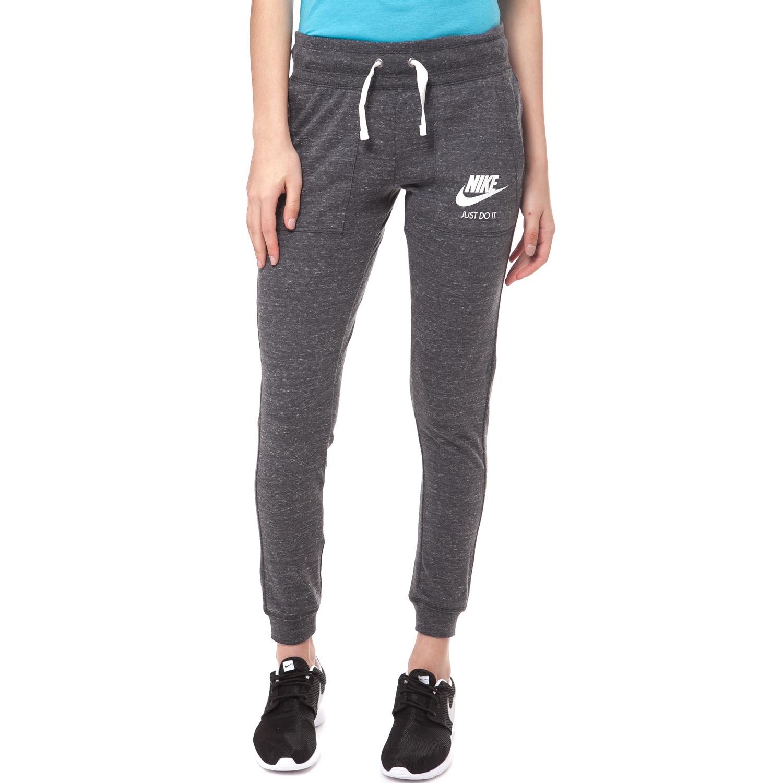 NIKE - Γυναικείο παντελόνι φόρμας Nike NSW GYM γκρι γυναικεία ρούχα αθλητικά φόρμες