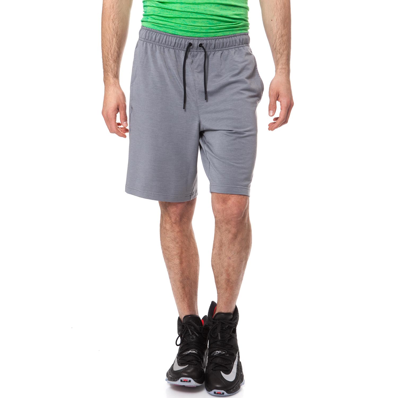 NIKE - Ανδρική βερμούδα NIKE DRY SHORT γκρι ανδρικά ρούχα σορτς βερμούδες αθλητικά