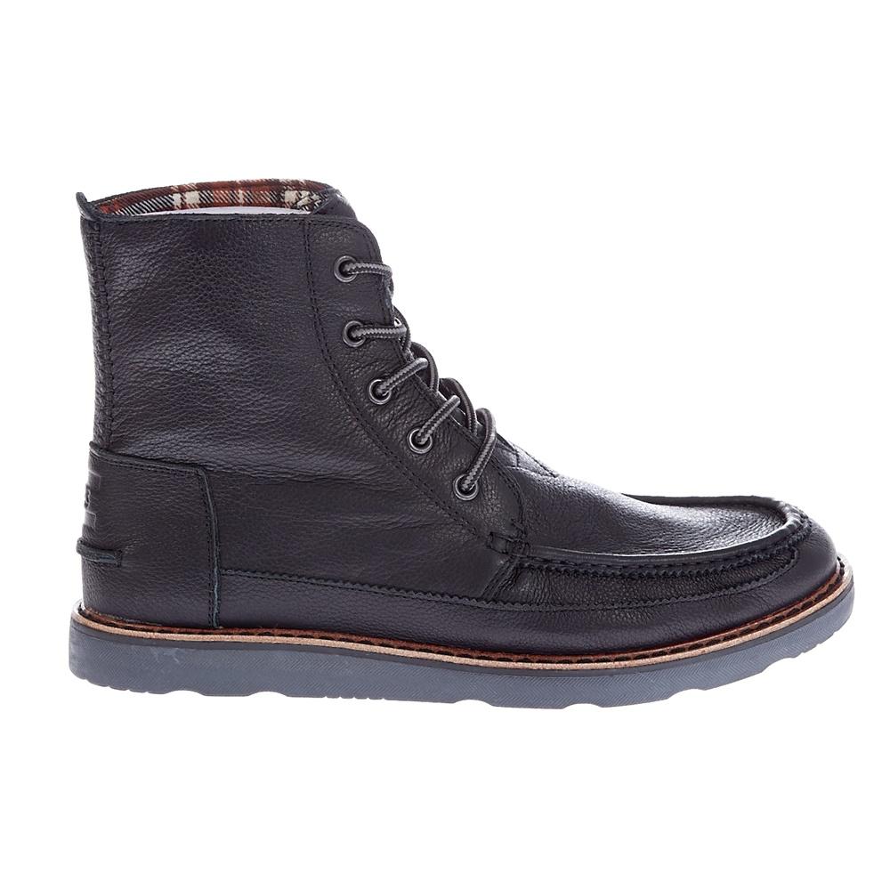 TOMS - Ανδρικά μποτάκια TOMS μαύρα ανδρικά παπούτσια μπότες μποτάκια μποτάκια