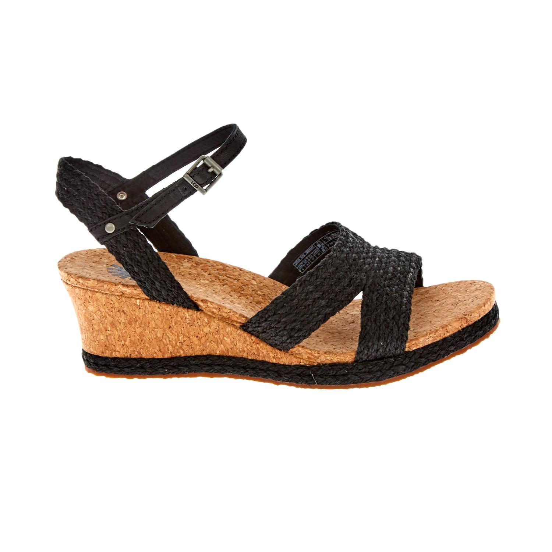 UGG AUSTRALIA - Γυναικείες πλατφόρμες UGG LUANN μαύρες γυναικεία παπούτσια πλατφόρμες