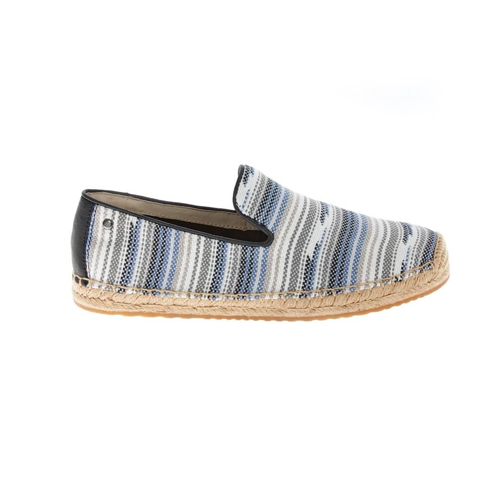 UGG AUSTRALIA - Γυναικείες εσπαντρίγιες UGG SANDRINNE ριγέ γυναικεία παπούτσια εσπαντρίγιες