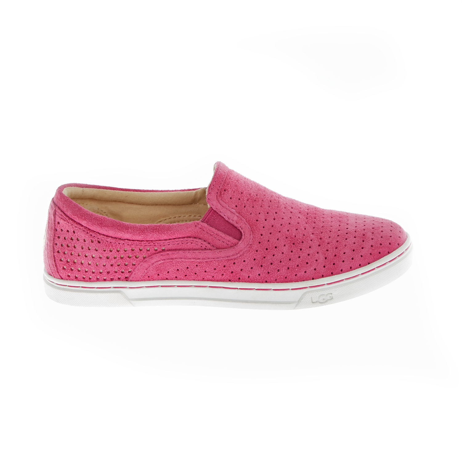 UGG AUSTRALIA – Γυναικεία slip-on sneakers UGG FIERCE GEO ροζ