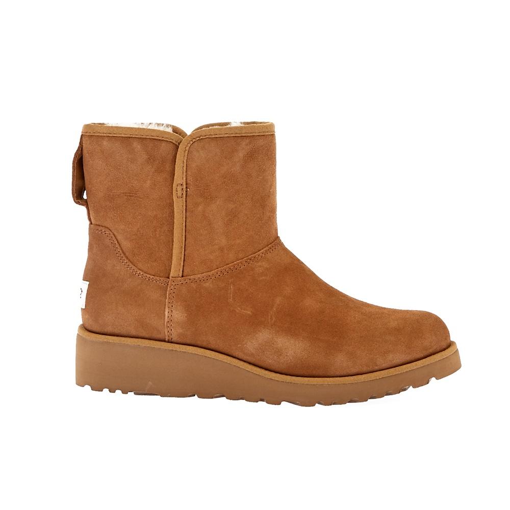 UGG AUSTRALIA - Γυναικεία μποτάκια Ugg Australia μπεζ-καφέ γυναικεία παπούτσια μπότες μποτάκια μποτάκια