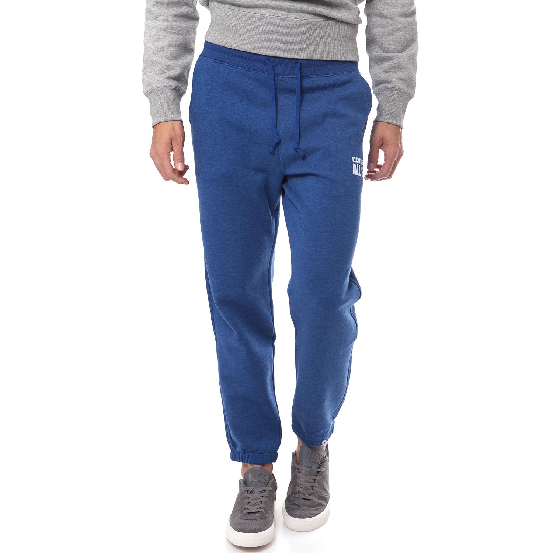 CONVERSE - Ανδρική φόρμα Converse μπλε ανδρικά ρούχα αθλητικά φόρμες