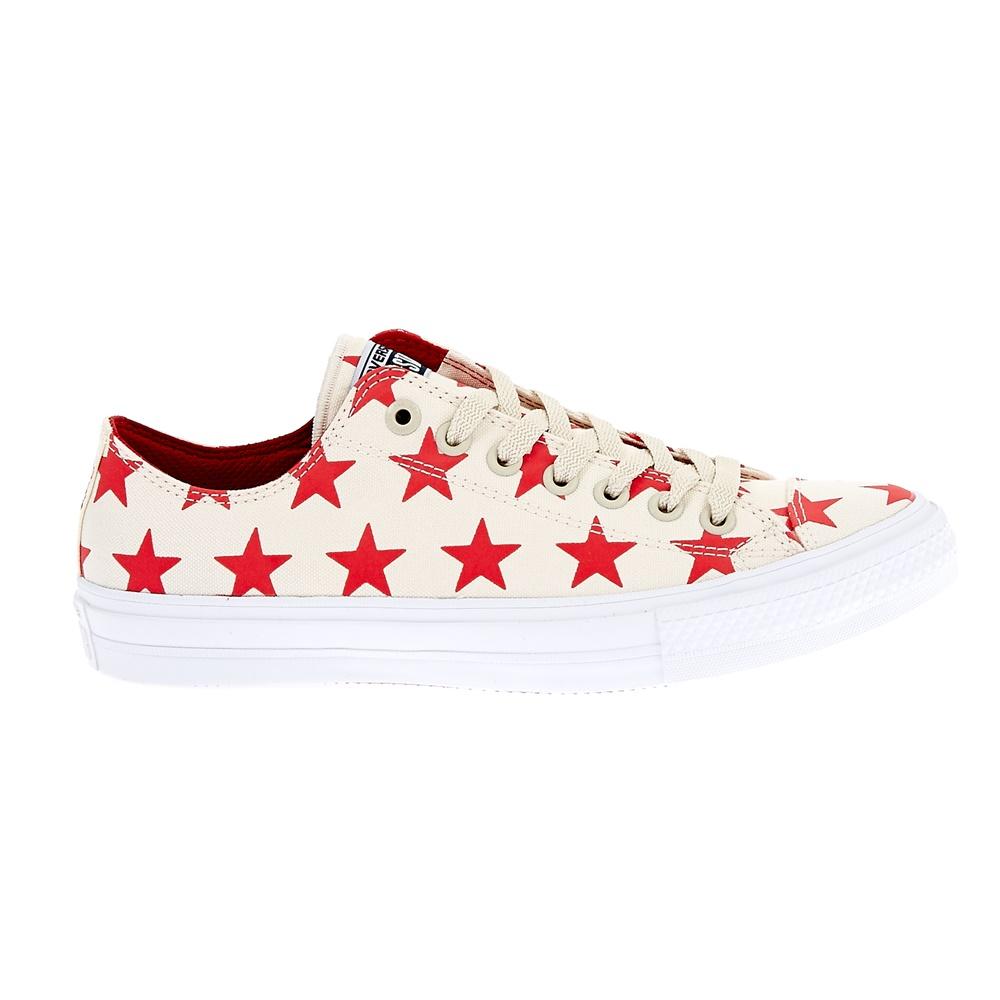 CONVERSE – Unisex παπούτσια Chuck Taylor All Star II Ox εκρού