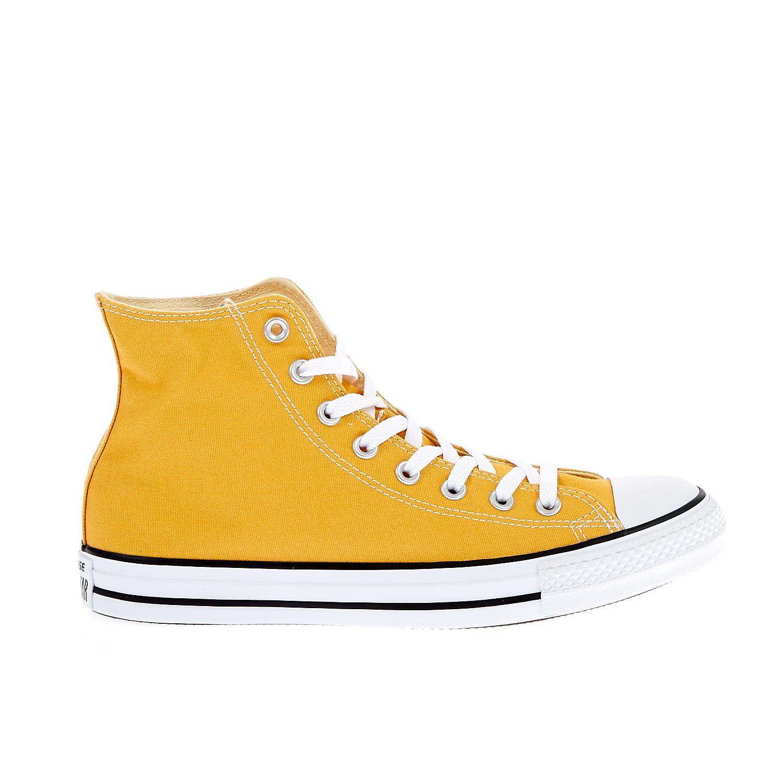 CONVERSE – Unisex παπούτσια Chuck Taylor All Star Hi κίτρινα-πορτοκαλί