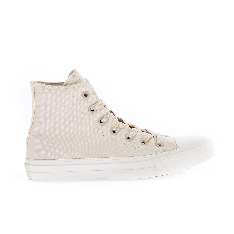 CONVERSE - Unisex παπούτσια Chuck Taylor All Star II Hi μπεζ