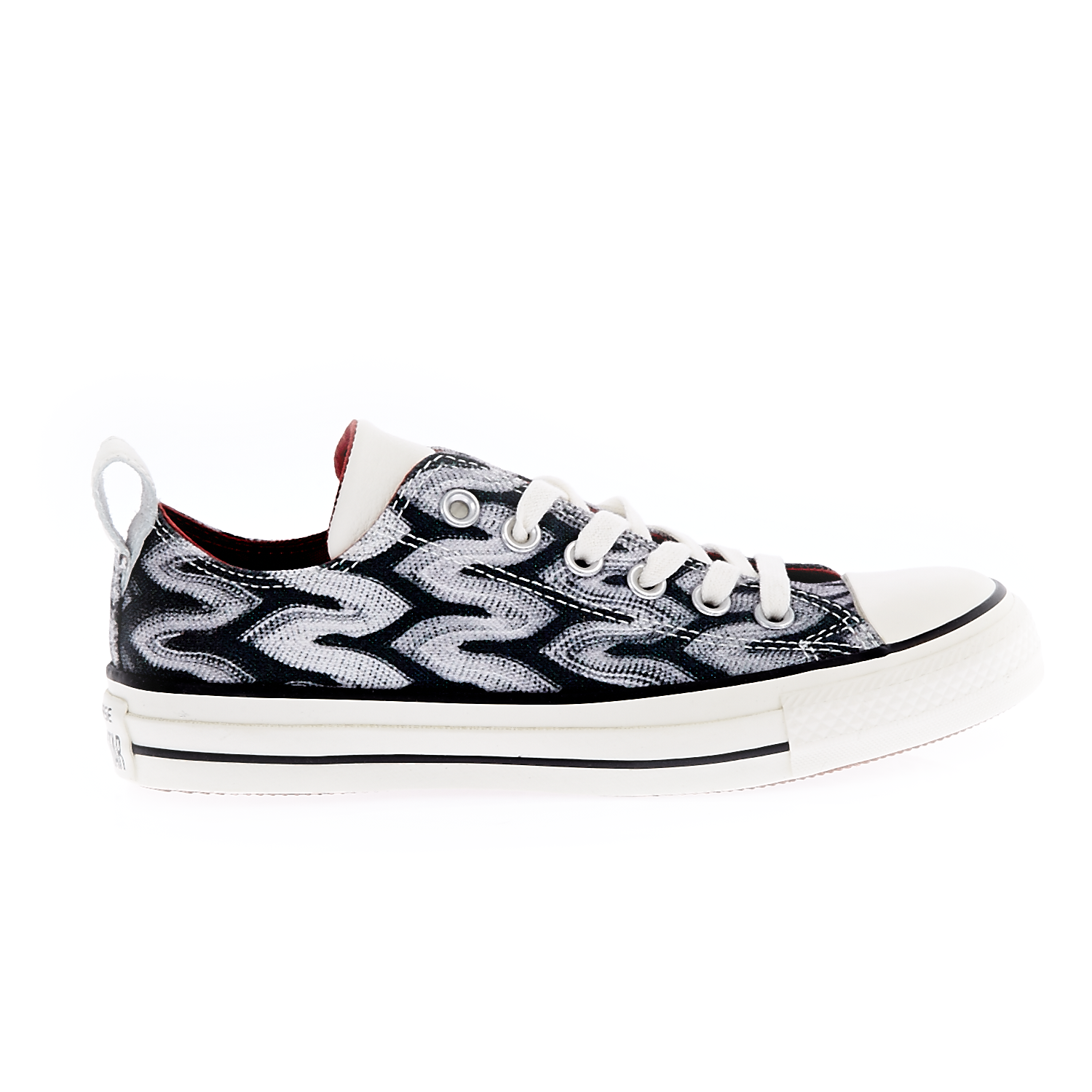 CONVERSE – Unisex παπούτσια Chuck Taylor All Star Ox μαύρα-λευκά