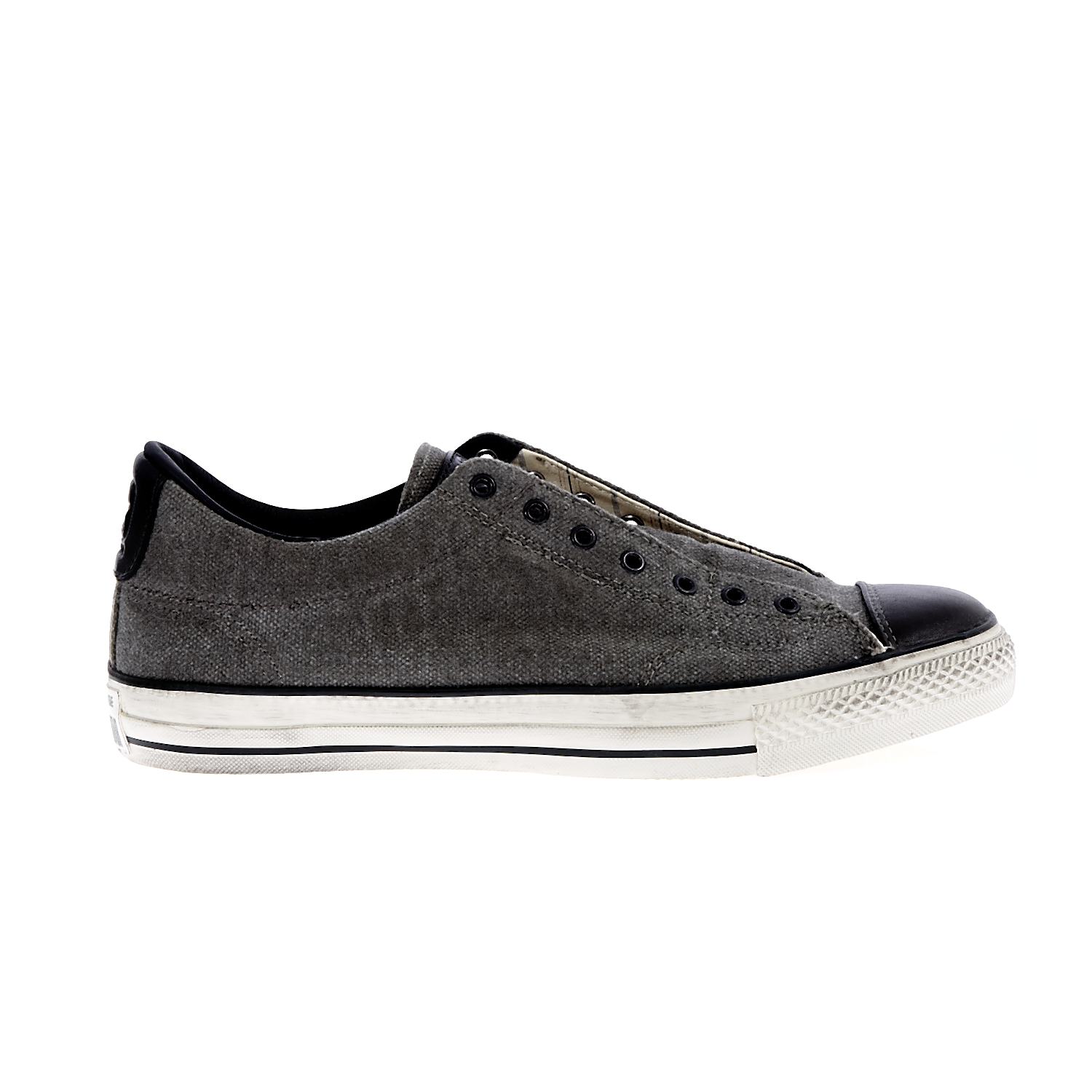 CONVERSE – Unisex παπούτσια Chuck Taylor All Star Vintage ανθρακί-μαύρα