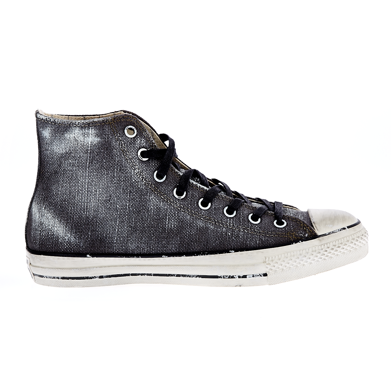 CONVERSE – Unisex παπούτσια Chuck Taylor All Star Hi ανθρακί-μαύρα
