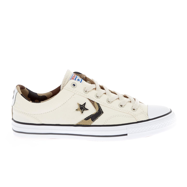 CONVERSE – Unisex παπούτσια Star Player Ox εκρού