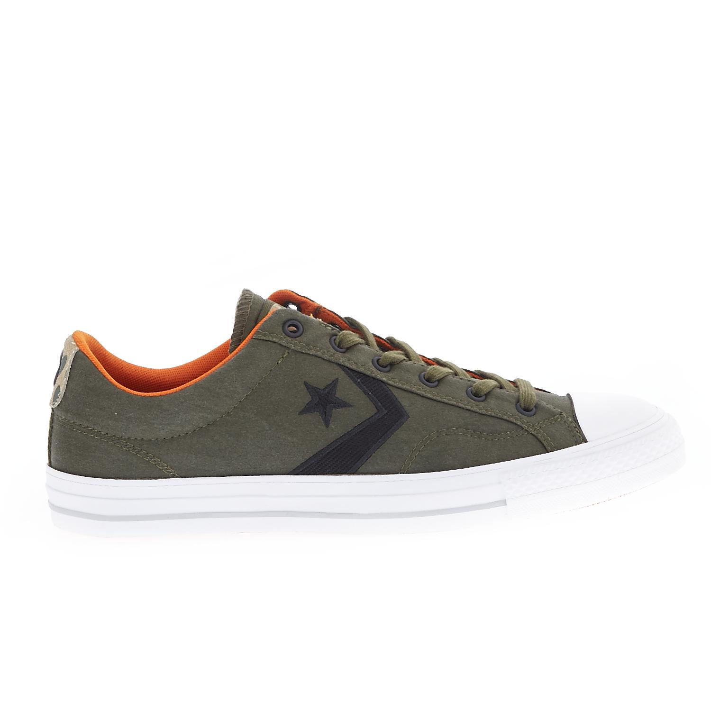 CONVERSE – Unisex παπούτσια Star Player Ox χακί