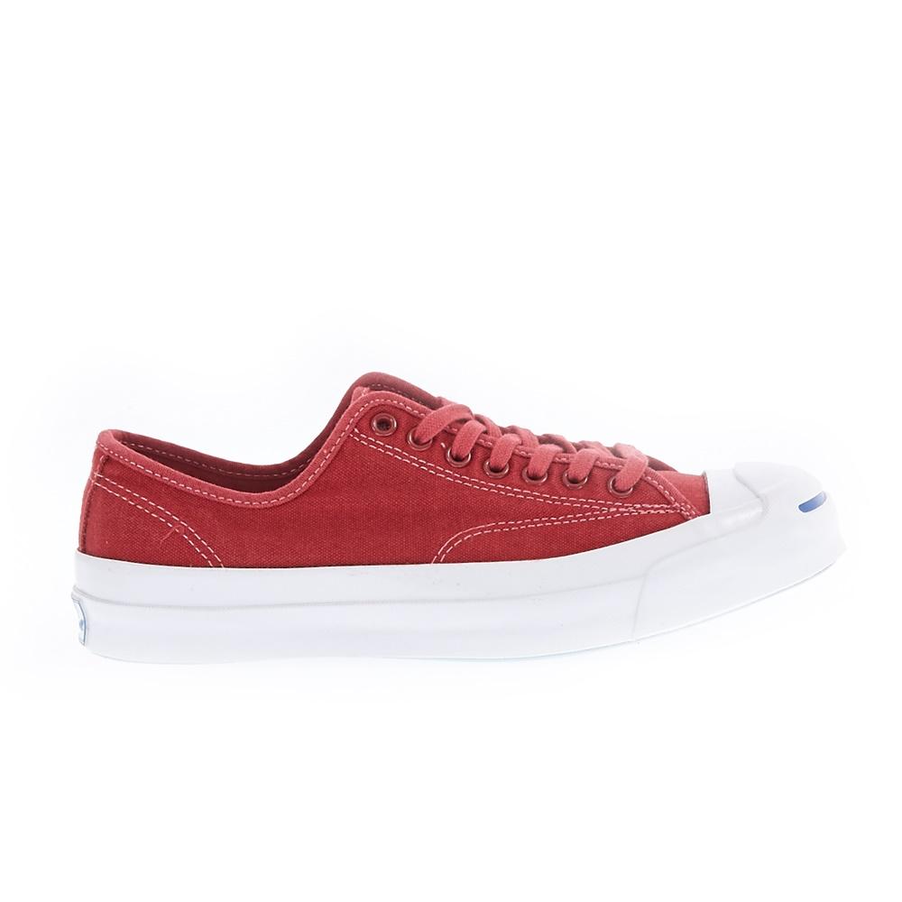 CONVERSE - Unisex παπούτσια Jack Purcell Signature Ox κόκκινα ανδρικά παπούτσια sneakers