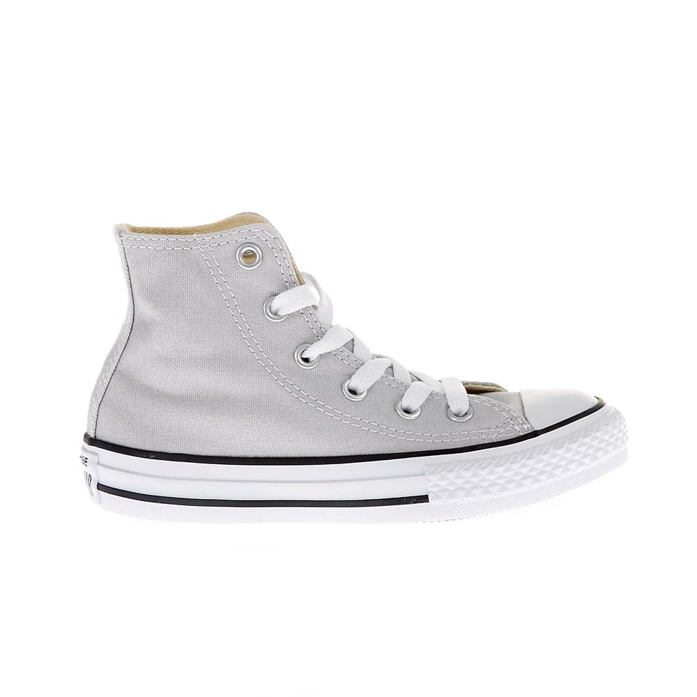4e40292524e CONVERSE - Παιδικά παπούτσια Chuck Taylor All Star Hi γκρι