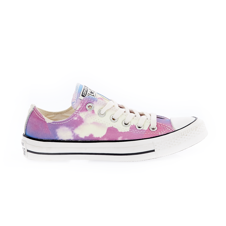 CONVERSE – Γυναικεία παπούτσια Chuck Taylor All Star Ox μωβ-λευκά