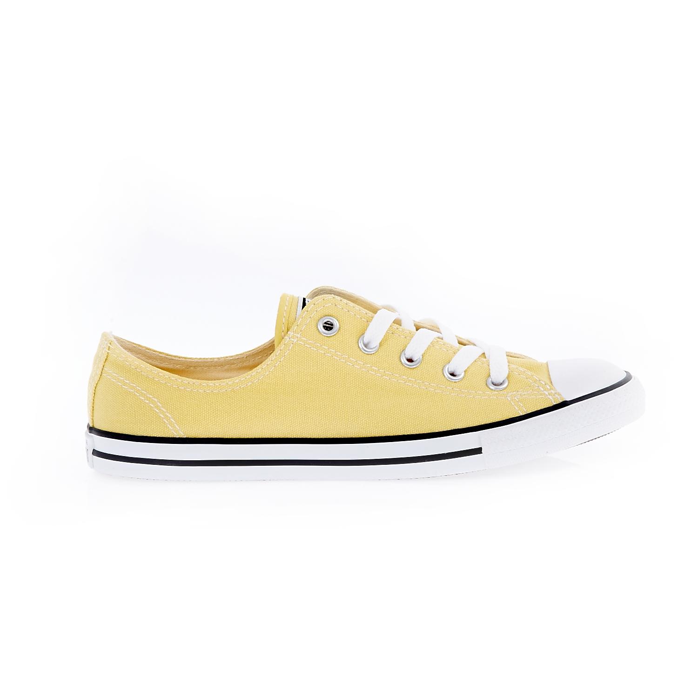 CONVERSE – Γυναικεία παπούτσια Chuck Taylor All Star Dainty O κίτρινα