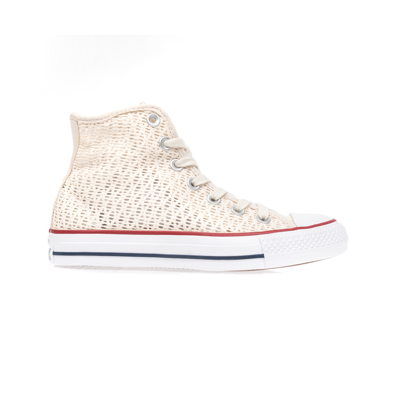 CONVERSE – Γυναικεία παπούτσια Chuck Taylor All Star Hi εκρού