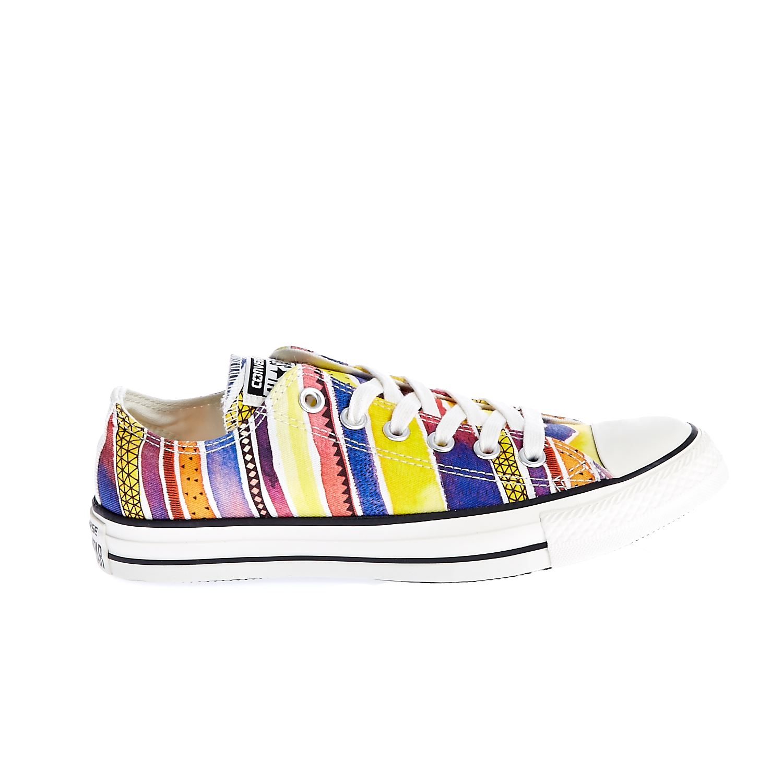 CONVERSE – Γυναικεία παπούτσια Chuck Taylor All Star Ox κίτρινα-μπλε