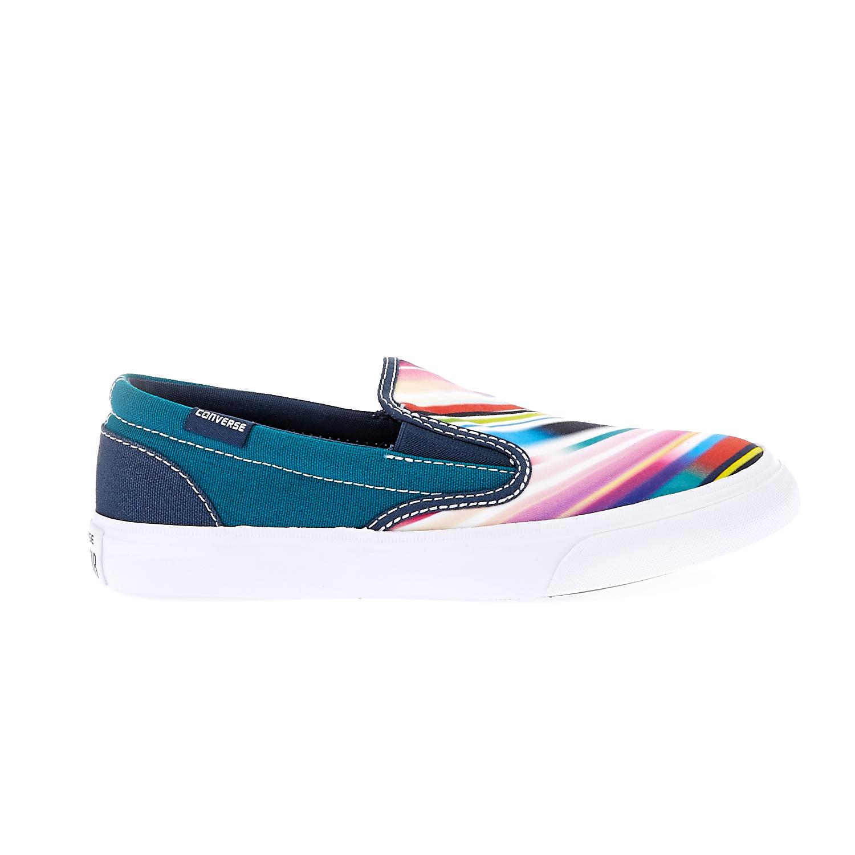 CONVERSE – Παιδικά παπούτσια Converse All Star Core Slip Sl μπλε-λευκά