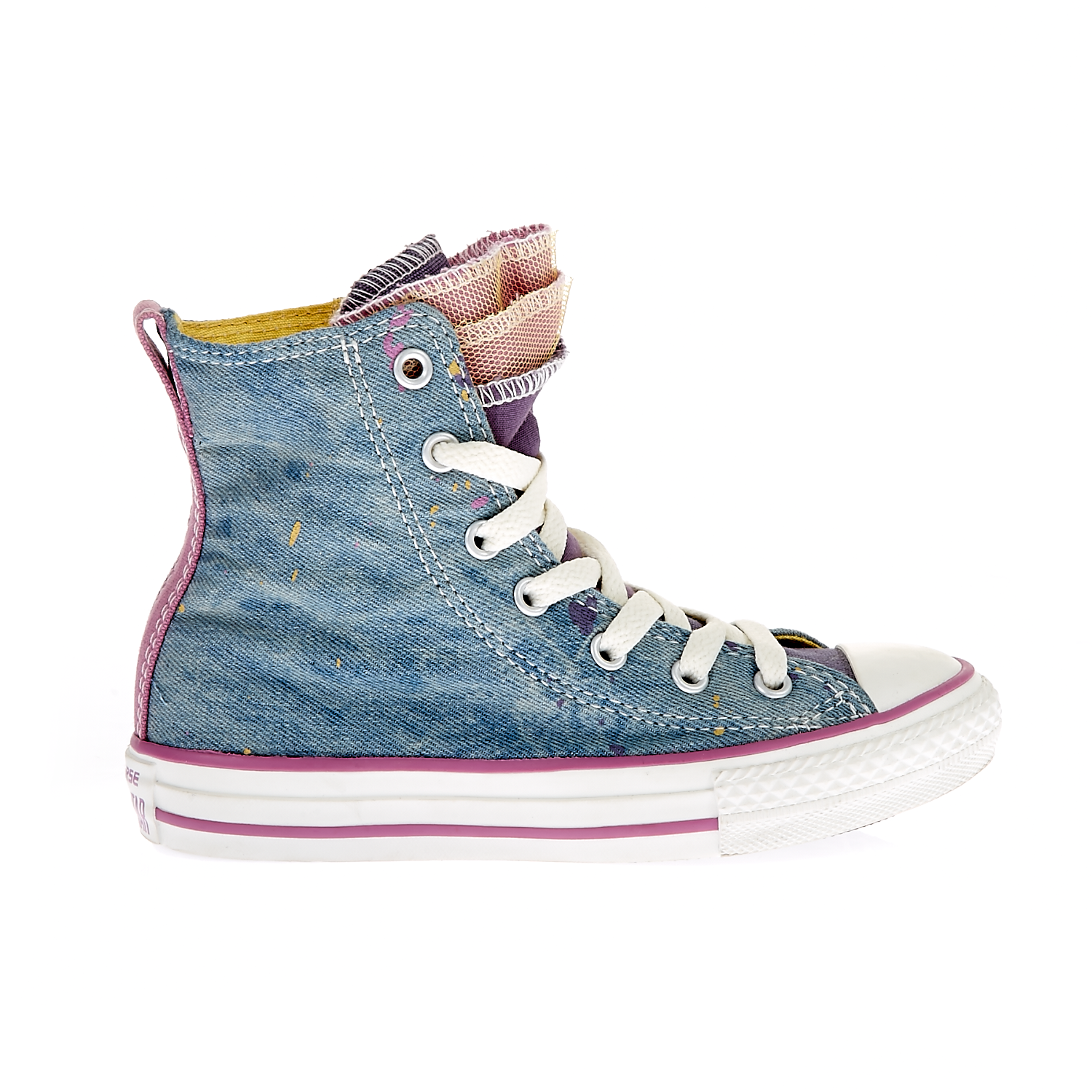 CONVERSE – Παιδικά παπούτσια Chuck Taylor All Star Party Hi μπλε
