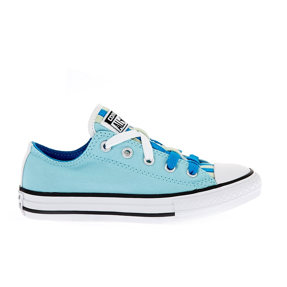CONVERSE – Παιδικά παπούτσια Chuck Taylor All Star Loophole μπλε-σιέλ