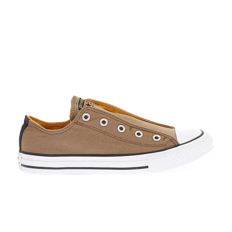 CONVERSE – Παιδικά παπούτσια Chuck Taylor All Star Slip Sli μπεζ