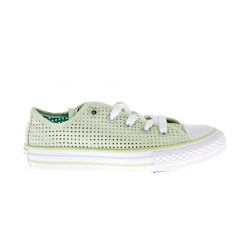 CONVERSE - Παιδικά παπούτσια Chuck Taylor All Star Ox πράσινα παιδικά boys παπούτσια sneakers