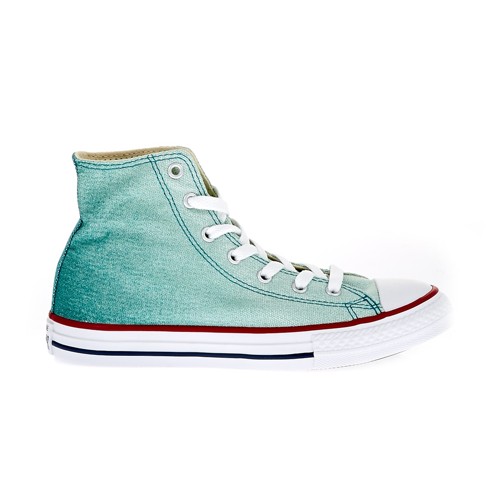 CONVERSE - Παιδικά παπούτσια Chuck Taylor All Star Hi μπλε-πράσινα
